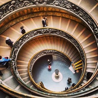 Photo taken at Vatican Museums by Nurcag on 2/25/2013