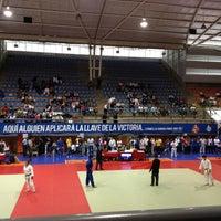 Photo taken at Complejo Panamericano de Voleibol by Alejandro on 5/28/2013