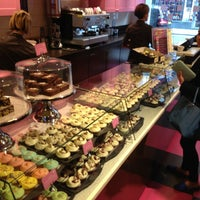 Photo taken at The Hummingbird Bakery by Vishnu P. on 3/27/2013