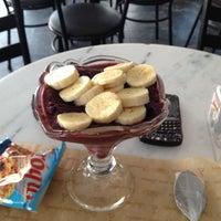 Photo taken at Fran's Café by Eduardo on 10/10/2012