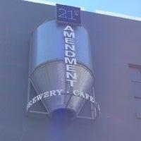 Photo taken at 21st Amendment Brewery & Restaurant by Seth C. on 6/17/2013