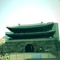 Photo taken at Sungnyemun by Eunhye L. on 5/4/2013