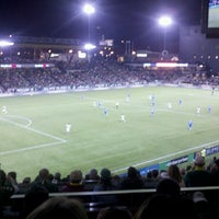 Photo taken at Providence Park by Melissa D. on 3/10/2013