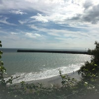 Photo taken at Folkestone by Jennie L. on 8/29/2016