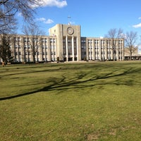 Photo taken at St. John's University by Damon W. on 1/24/2013