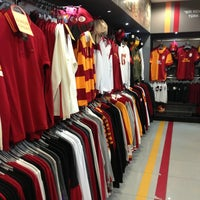 Photo taken at Galatasaray Store by aysegul z. on 4/3/2013