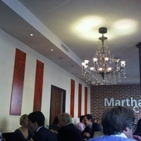 Photo taken at Martha's cafe by Mathieu M. on 9/28/2012