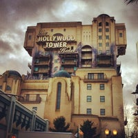 Photo taken at The Twilight Zone Tower of Terror by Christian R. on 11/25/2012