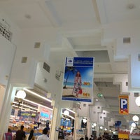 Photo taken at Carrefour كارفور by Yulia V. on 5/4/2013