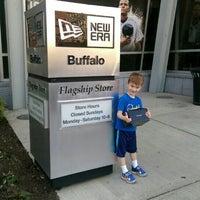 Photo taken at New Era Flagship Store: Buffalo by Joe B. on 5/26/2015
