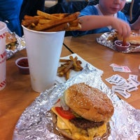 Photo taken at Five Guys by Greg D. on 11/3/2012