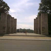 Photo taken at War Memorial Chapel by Kaushal A. on 9/15/2012