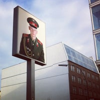 Photo taken at Checkpoint Charlie by Deric L. on 12/17/2012