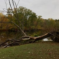 Photo taken at Olmstead Park by Sydney T. on 10/29/2016