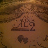 Photo taken at Acqua Al 2 by Alaina on 12/2/2012