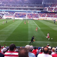Photo taken at Red Bull Arena by Lisa F. on 6/30/2013