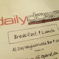Photo taken at Daily Dose Midtown Bar & Grill by Danny O. on 9/29/2012
