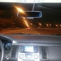 Photo taken at Abu Dhabi - Dubai Road by Evrim on 2/22/2013
