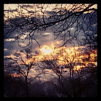 Photo taken at Lincoln Terrace Park by Kenny on 4/15/2013