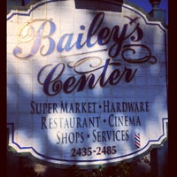 Photo taken at Bailey's General Store by Christopher on 5/6/2014
