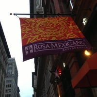 Photo taken at Rosa Mexicano by peter on 3/2/2013
