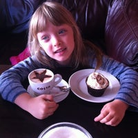 Photo taken at Costa Coffee by Lucy on 11/1/2012