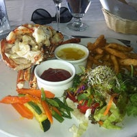 Photo taken at Lobster Alive by Neil on 2/24/2013