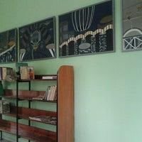 Photo taken at Ogres Centrālā bibliotēka by Evija K. on 6/30/2014