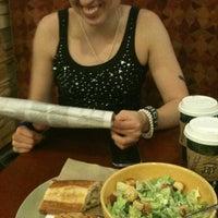 Photo taken at Saint Louis Bread Co. by Lauren on 11/14/2012