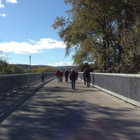 Photo taken at Walkway Over the Hudson State Historic Park by Janine on 10/16/2012