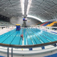 Photo taken at Sydney Olympic Park Aquatic Centre by Ale on 12/27/2015