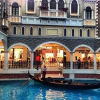 Photo taken at The Venetian Macau Resort by Дмитрий Ю. on 7/15/2013