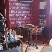 Photo taken at Express Nails by Оксана Т. on 4/11/2014