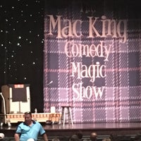 Photo taken at The Mac King Comedy Magic Show by Emil M. on 6/30/2016