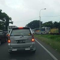 Photo taken at Gerbang Tol Cibitung by asif l. on 5/22/2014