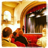 Photo taken at Irvington Town Hall Theater by Kate L. on 10/7/2012