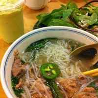 Photo taken at Pho So 1 by Chris L. on 11/18/2012