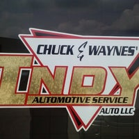 Photo taken at Chuck and Wayne's Indy Automotive Service LLC by Mr. Y. on 5/20/2013