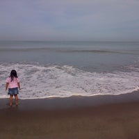 Photo taken at Pantai Cermin by Tasya P. on 8/13/2013