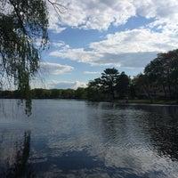 Photo taken at Washington Township Lake by John A. on 5/18/2014