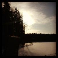 Photo taken at Pyymosantie by Noora S. on 3/19/2013