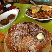 Photo taken at Pick Me Up Café by Jonathan N. on 5/18/2013