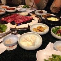 Photo taken at Aria Korean BBQ by Junho K. on 10/4/2013