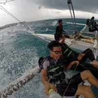 Photo taken at Paraw Sailing by Haziq H. on 8/10/2016