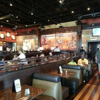 Photo taken at BJ's Restaurant and Brewhouse by Bridget B. on 4/9/2013
