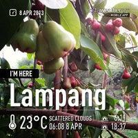 Photo taken at Lampang Vineyard by Jesada K. on 4/7/2013