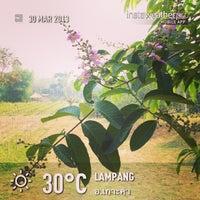 Photo taken at Lampang Vineyard by Jesada K. on 3/30/2013
