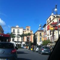 Photo taken at Piazza Tasso by Fabio on 3/21/2013