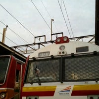 Photo taken at Stasiun Bekasi by Yohanes Budi P. on 12/18/2012