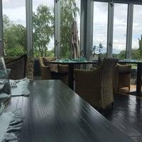 Photo taken at Restaurant Die Ente | SeeHotel Ketsch by Carsten L. on 5/19/2016